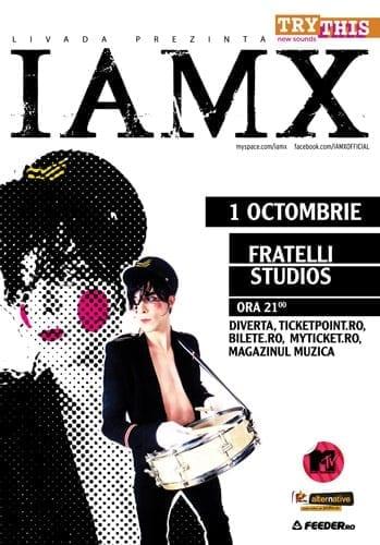 IAMX pentru prima data la Bucuresti
