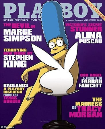 playboy marge simpson november