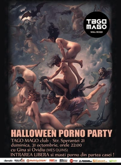Halloween Porno Party @ Tago Mago