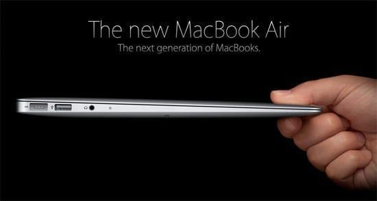 Noul Apple MacBook Air