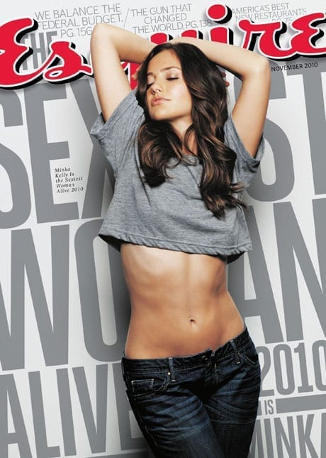 Esquire: Minka Kelly este Cea Mai Sexy Femeie In Viata