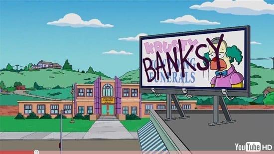 Intro controversat realizat de Banksy pentru The Simpsons