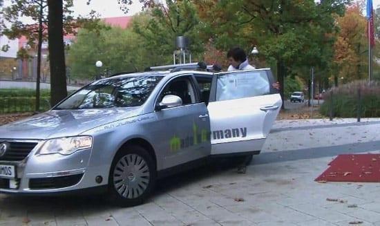 Taxi-uri fara sofer in Berlin