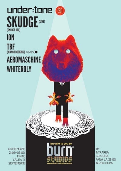 Skudge (live), Ion, TBF, Aeromaschine, Whiteroly @ MNAC