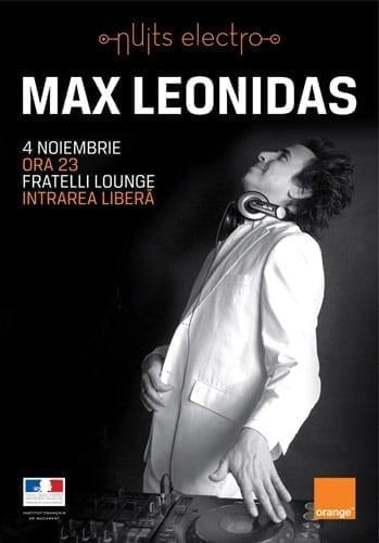 Max Leonidas @ Fratelli Lounge