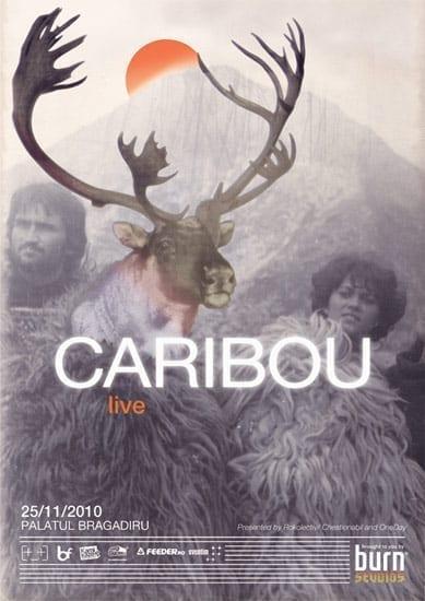 Caribou live @ Palatul Bragadiru