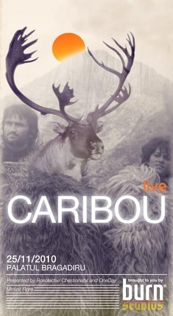 Caribou @ Palatul Bragadiru