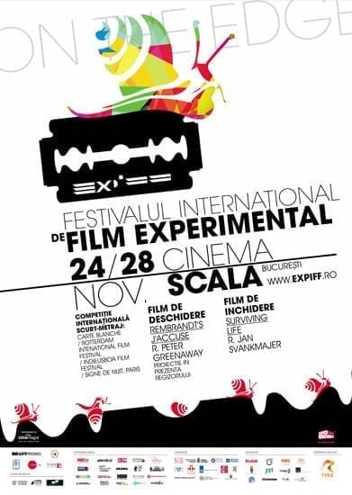 Festivalului Internaţional de Film Experimental Bucuresti EXPIFF 2010 @ Cinema Scala