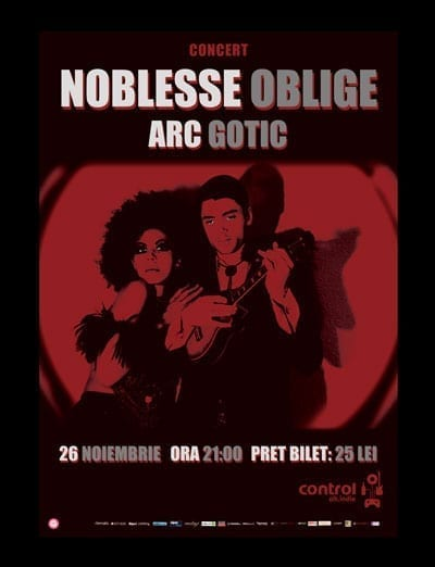 Noblesse Oblige @ Control