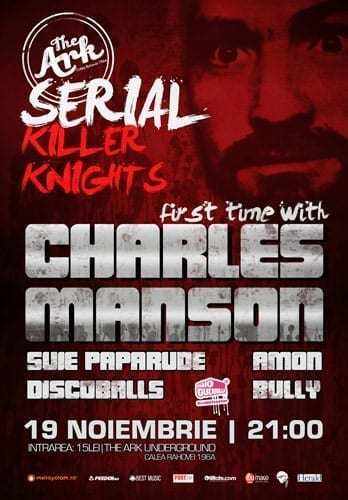 Serial Killer Knights cu Suie Paparude @ The Ark