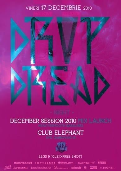 Dropdread December Session Mix Launch @ Elephant Club