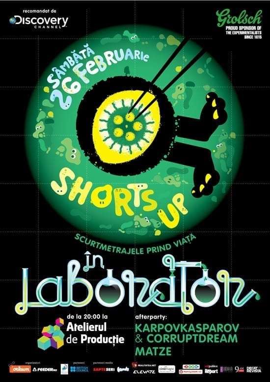 ShortsUP In Laborator @ Atelierul de Productie
