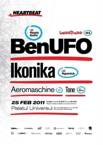 BenUFO & Ikonika @ Palatul Universul
