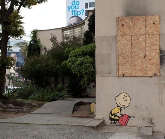 Banksy la Hollywood