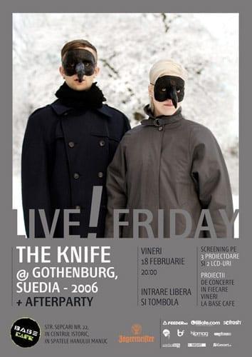 Proiectie The Knife @ Gothenburg @ Base Cafe