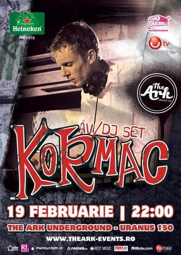 Kormac devine primul DJ rezident international din Romania!