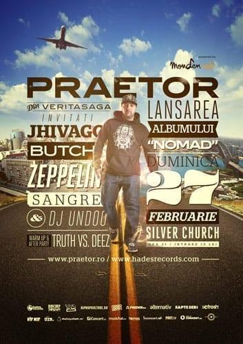 Lansare Praetor - Nomad @ Silver Church