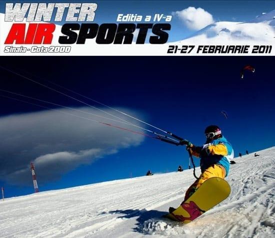 Snowkite - Speedfly 2011 @ Sinaia