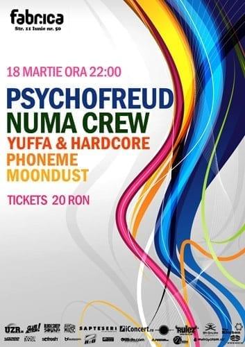 Psychofreud + Numa Crew @ Fabrica