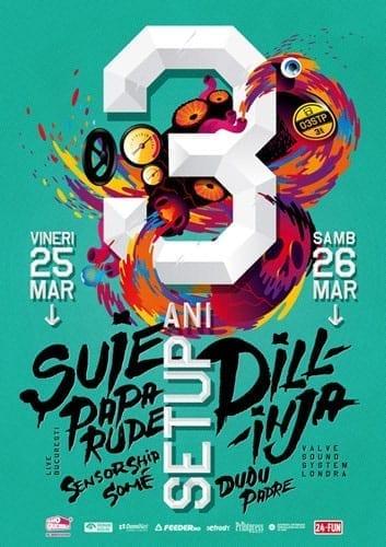 3 ani de Setup cu Suie Paparude & Dillinja