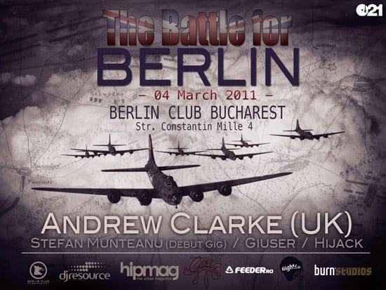Andrew Clarke @ Berlin Club