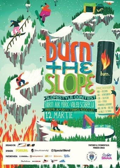 Burn the Slope @ Sinaia