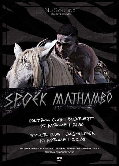 SPOEK MATHAMBO @ Control