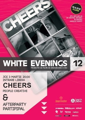 Proiectie Cheers @ Base Cafe