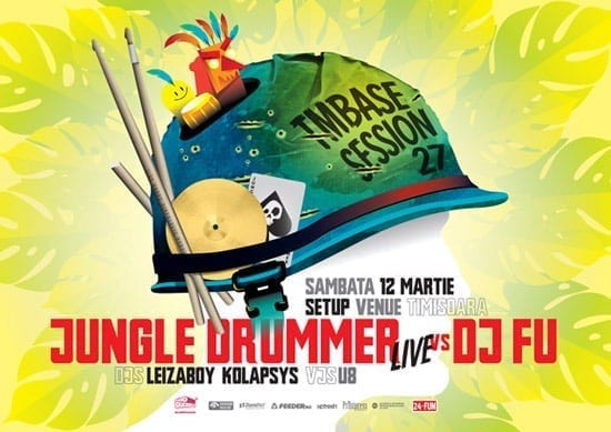 Jungle Drummer vs Dj FU @ Setup (TM)