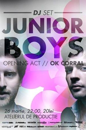 Junior boys @ Atelierul de productie