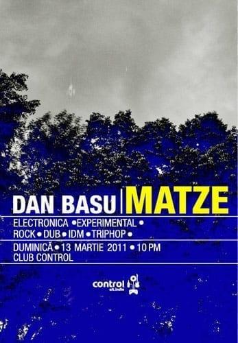 Dan Basu | MATZE @ Control