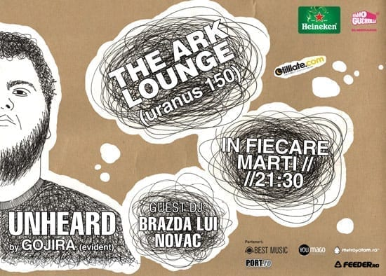 Unheard by Gojira & Brazda lui Novac @ The Ark