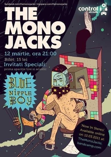 The Mono Jacks lanseaza 'Now In Stereo' in format digital @ Control