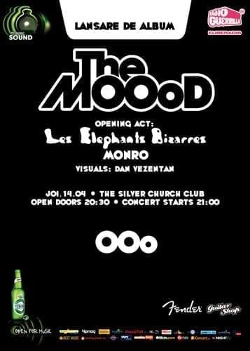 "The MOOoD lanseaza albumul ""OOo"" @ Silver Church"