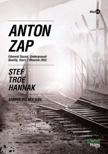 Anton Zap @ Palatul Spayer