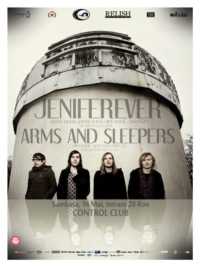 Jeniferever / Arms and Sleepers @ CONTROL