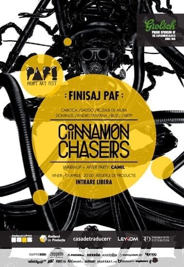 Cinnamon Chasers @ Atelierul de Productie