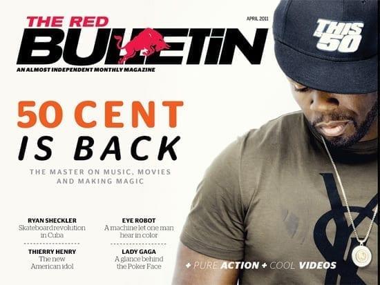 Red Bulletin acum si pt iPad