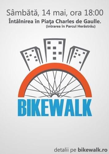 Primul Bikewalk din 2011