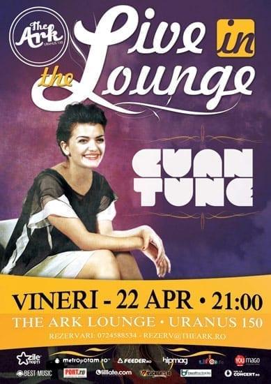"""Live in The Lounge"" cu Cuantune @ The Ark"