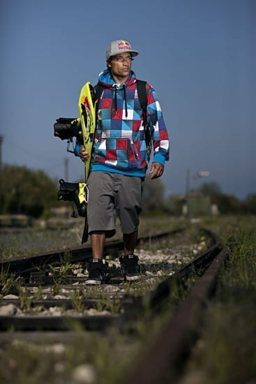 Premiera mondiala, in Romania: wakeboarding tras de tren