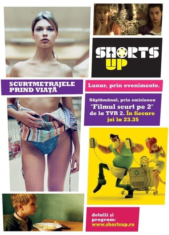 "ShortsUP si TVR 2 prezinta ""Filmul Scurt pe 2"""