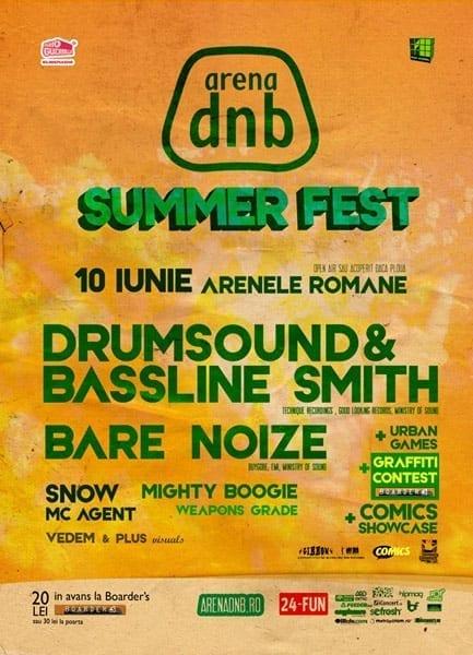 Arena DnB Summer Fest @ Arenele Romane