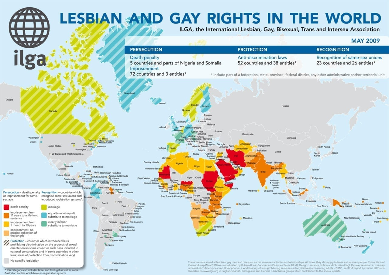Lesbian and Gay Rights in the World (2009)