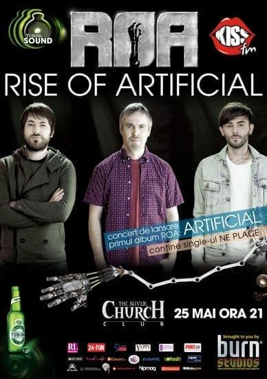Lansare ROA - Artificial @ Silver Church (primul concert)