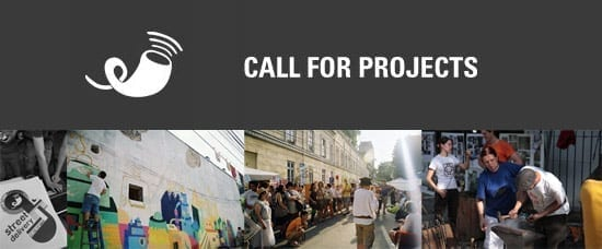STREET DELIVERY 2011 - Call for PROJECTS
