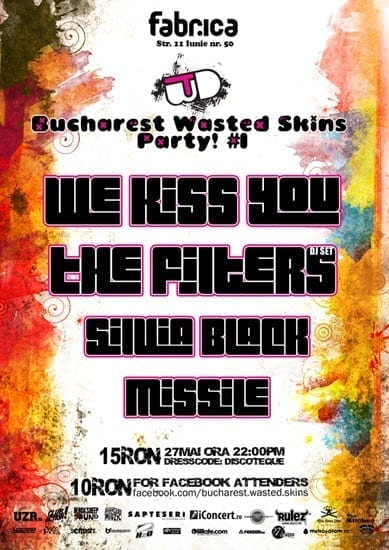 Bucharest Wasted Skins Party @ Fabrica