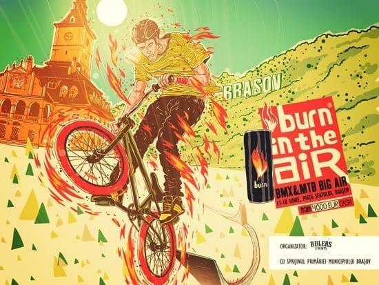Burn in the Air @ Brasov