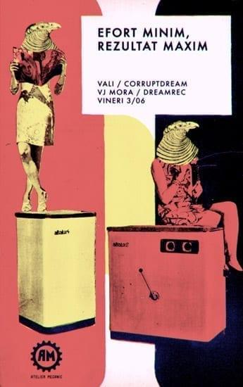 Vali, Dreamrec, Corruptdream, VJ Mora @ Atelierul Mecanic