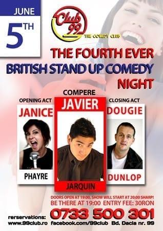 British Comedy Night @ Club 99